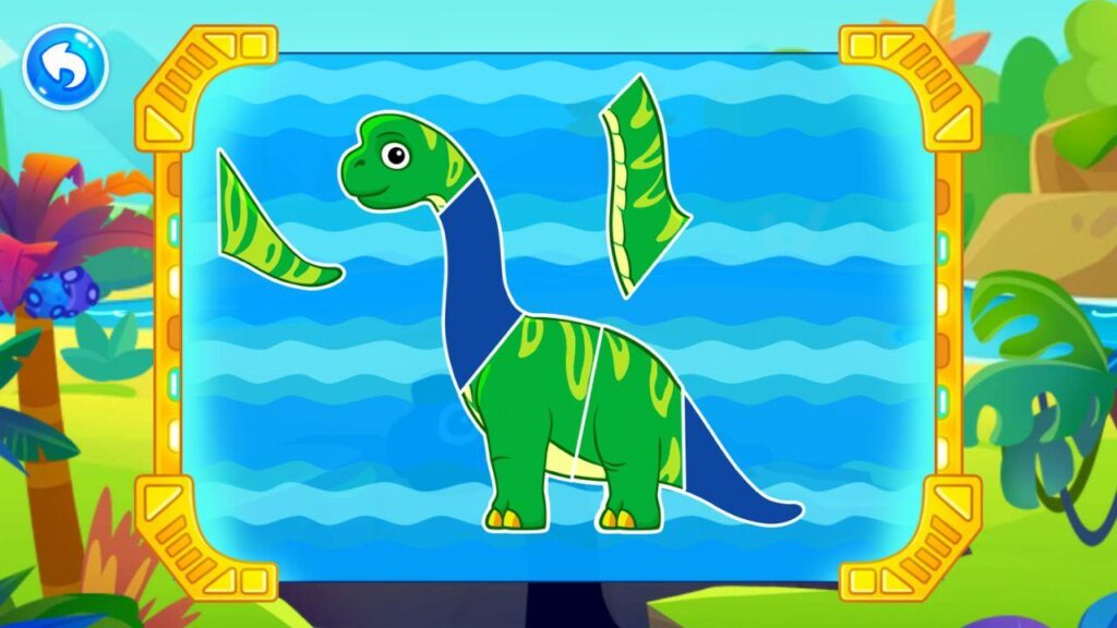 games for kids - dinosaurs