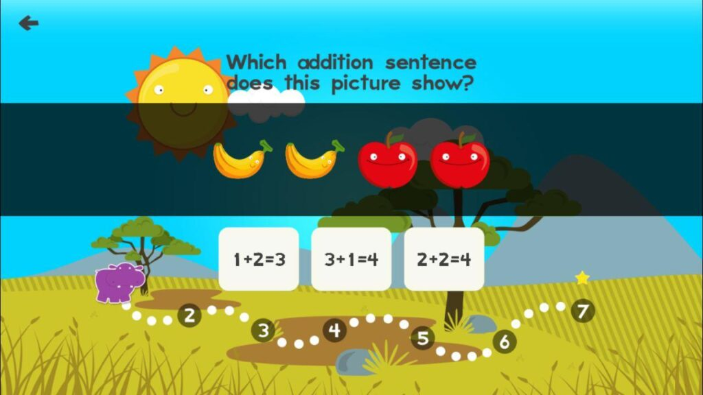 animal math - apps for kids on Android